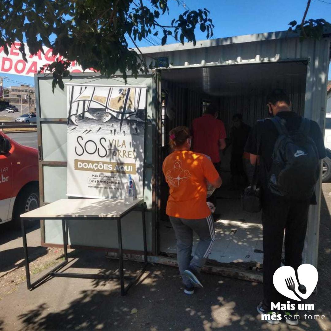 Doações SOS Vila Torres